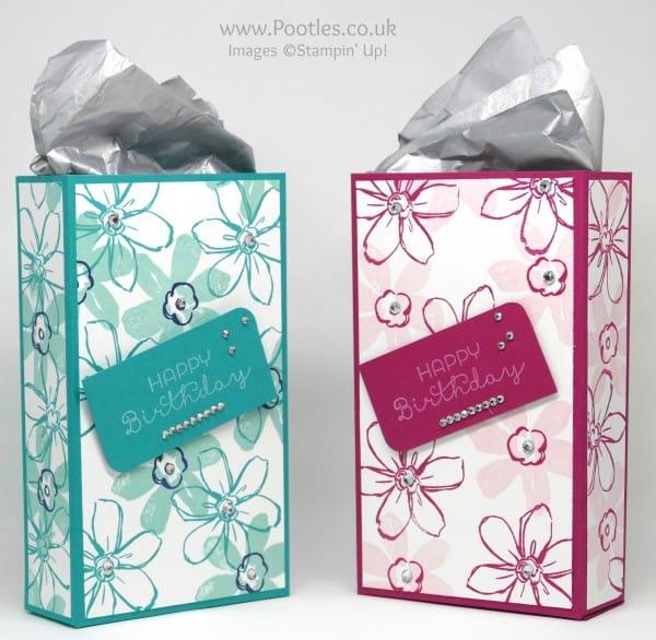 Stampin' Up! Demonstrator Pootles - Beautiful Box using Garden In Bloom