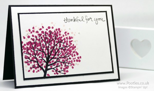 Stampin' Up! Demonstrator Pootles - Cherry Blossom Sheltering Tree