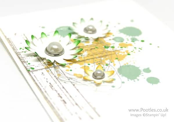 Stampin' Up! Demonstrator Pootles - Gorgeous Blossom Bunch and a Giveaway! Punch Detail
