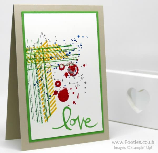 Stampin' Up! Demonstrator Pootles - Gorgeous Grunge for a Chap!