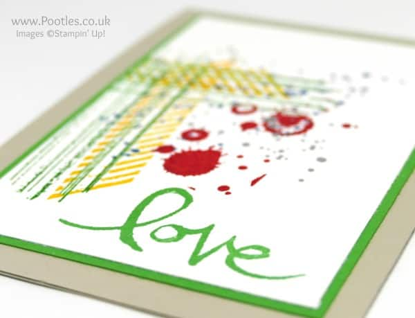 Stampin' Up! Demonstrator Pootles - Gorgeous Grunge for a Chap! Colours