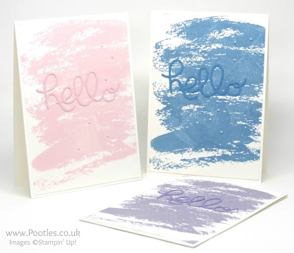Stampin' Up! Demonstrator Pootles - Hello Watercolour!