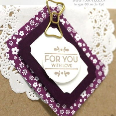Thank You Gifts using Tags & Labels Framelits