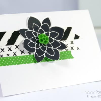 Washi Tape Customer Thank You Cards