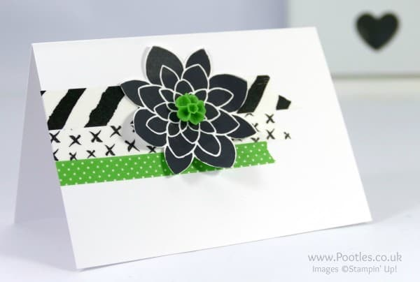 Stampin' Up! Demonstrator Pootles - Washi Tape Customer Thank You Cards