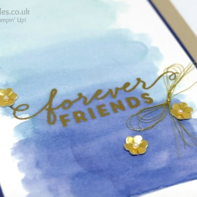 Watercolouring with First Sight and Forever Friends