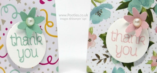 Stampin' Up! Demonstrator Pootles - Way Back Wednesday 6 Bags from 1 Sheet of Paper Circle of Spring