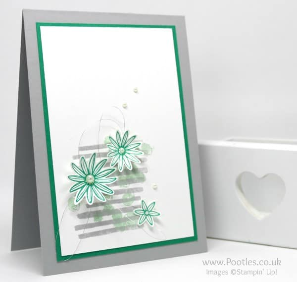 Stampin' Up! Incentive Trip Card Swaps using Playful Backgrounds