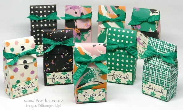 Stampin' Up! Incentive Trip Swaps using Playful Palette Emerald Envy