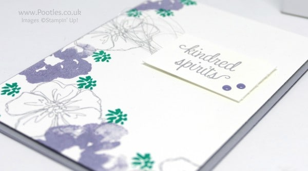 Stampin' Up! Demonstrator Pootles' Colour Challenge 002 Side Profile