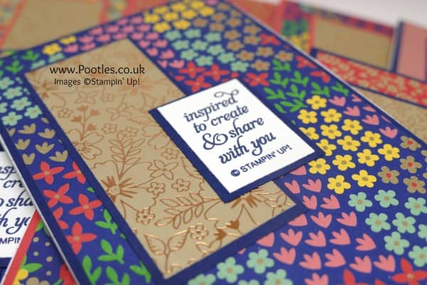 Stampin' Up! Demonstrator Pootles - New Team Notebook Gifts Using Affectionately Yours Close Up