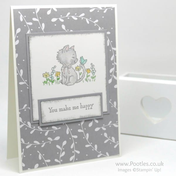 Stampin' Up! Demonstrator Pootles' Saturday Challenge 001