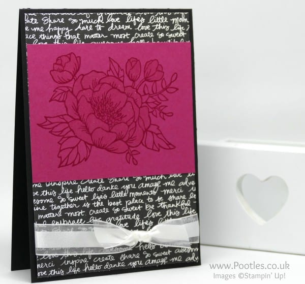 Stampin' Up! Demonstrator Pootles - Sparkly Birthday Blooms