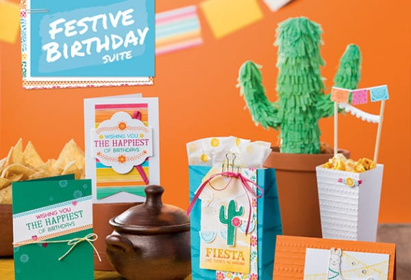 Stampin' Up! Festive Birthday