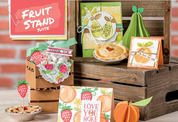 Stampin' Up! Fruit Stand