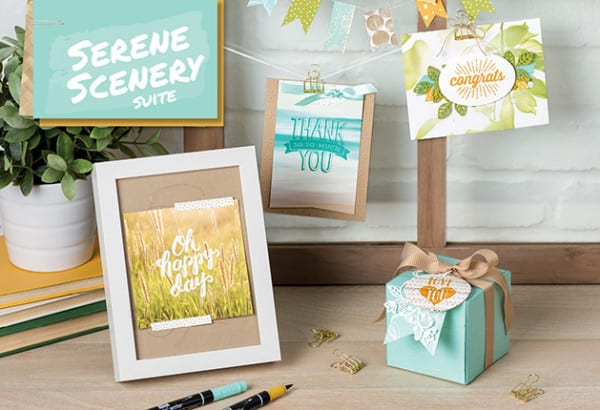 Stampin' Up! Serene Scenery