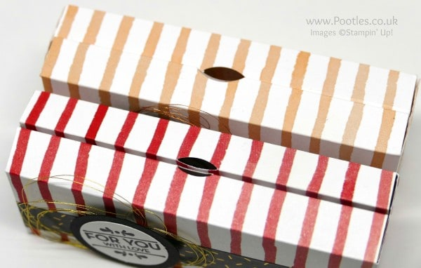Stampin' up! Demonstrator Pootles - 6x6 Cute Box using Stampin' Up! Fruit Stand Paper Top