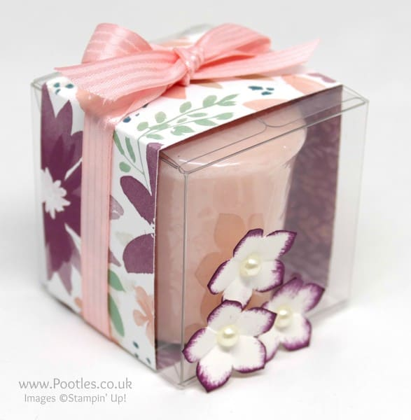 Stampin' Up! Clear Treat Boxes for Yankee Candles Single