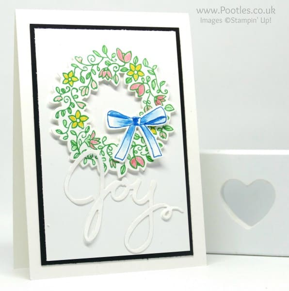 Stampin' Up! Demonstrator Pootles - Colour Your World Blog Hop July - Circle of Spring