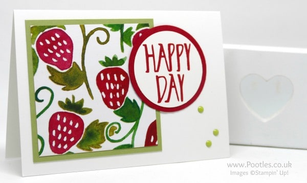 Stampin' Up! Demonstrator Pootles - Fruit Stand Perfectly Wrapped Notecards