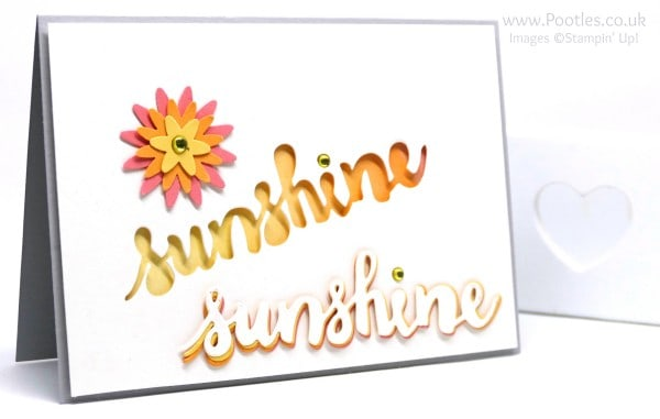 Stampin' Up! Demonstrator Pootles - Retro Sunshine Wishes. Accidentally....