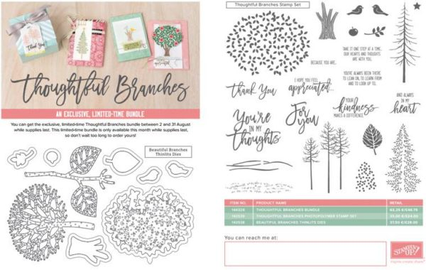 Thoughtful Branches Stampin' Up! (1)