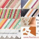 New Autumn Winter Stampin' Up! Catalogue Paper Shares and Ribbon Shares from Pootles