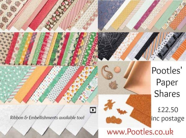 Pootles' Autumn Winter Paper Shares
