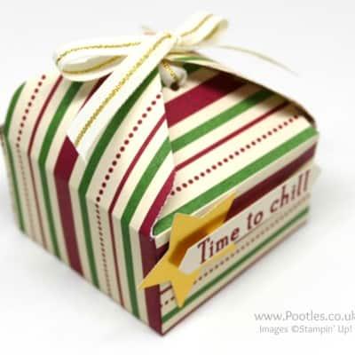 Pootles' Way Back Wednesday Envelope Punch Board Tab Tie Box