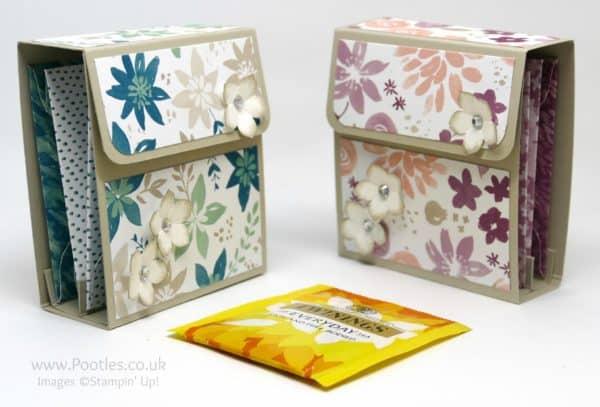 Pootles' Way Back Wednesday Tea Bag Holder Folder