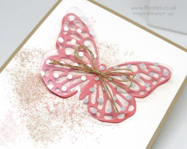 Stampin' Up! Demonstrator Pootles - Butterflies and Touches of Texture Die Cut Detail