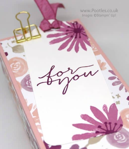 Stampin' Up! Demonstrator Pootles - Extra Large Lucky Dip Rummage Box Label Detail