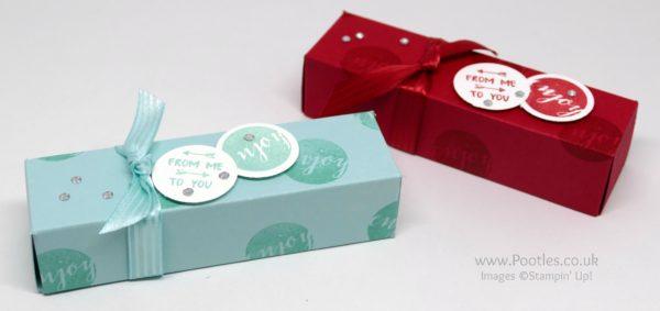 Stampin' Up! Demonstrator Pootles - Fold Flat Patreon Gift Boxes using Stampin' Up! Supplies