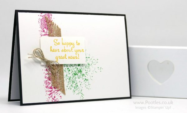 Stampin' Up! Demonstrator Pootles - Happy Happenings and Touches of Texture