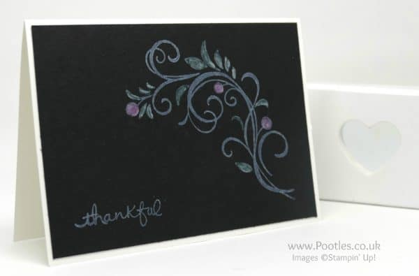 Stampin' Up! Demonstrator Pootles - Jacob's Falling Flowers using Stampin' Up! goodies