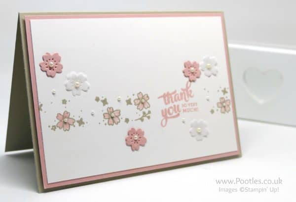 Stampin' Up! Demonstrator Pootles - Mixed Borders and Bloomin Hearts