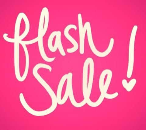 Flash Sale ends FRIDAY! Click the photo to go there!