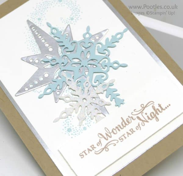 Pootlers Team Blog Hop - Star of Light and Starlight Detail