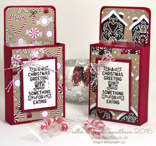 Pootles Advent Countdown 2016 Candy Cane Lane Box