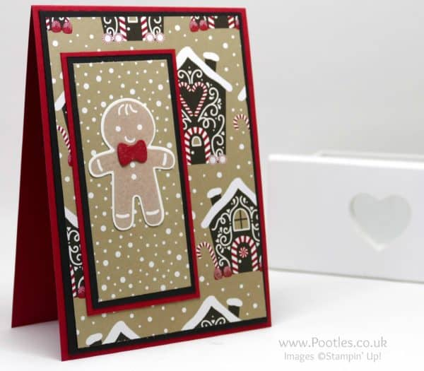 Stampin' Up! Demonstrator Pootles - Candy Cane Lane and the Cookie Cutter Gingerbread Man