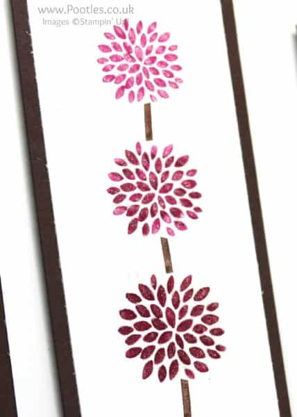 Stampin' Up! Demonstrator Pootles - Colour Your World Blog Hop Vertical Greetings Wink of Stella Detail