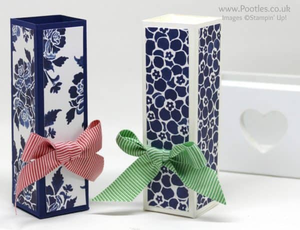 Stampin' Up! Demonstrator Pootles - Fast Floral Box using Floral Boutique Paper