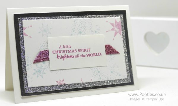 Stampin' Up! Demonstrator Pootles - Thank You Cards using Star of Light and Starlight. And a lot of glitter and foil...