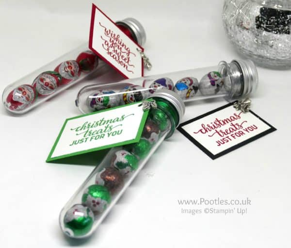 Pootles Advent Countdown 2016 Test Tube Chocolate Treats