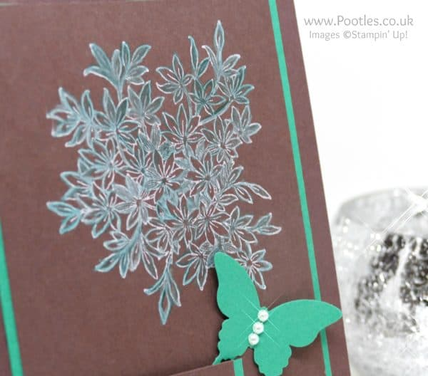 Stampin' Up! Demonstrator Pootles - Awesomely Artistic Chalk Colouring Blender Pen Detail