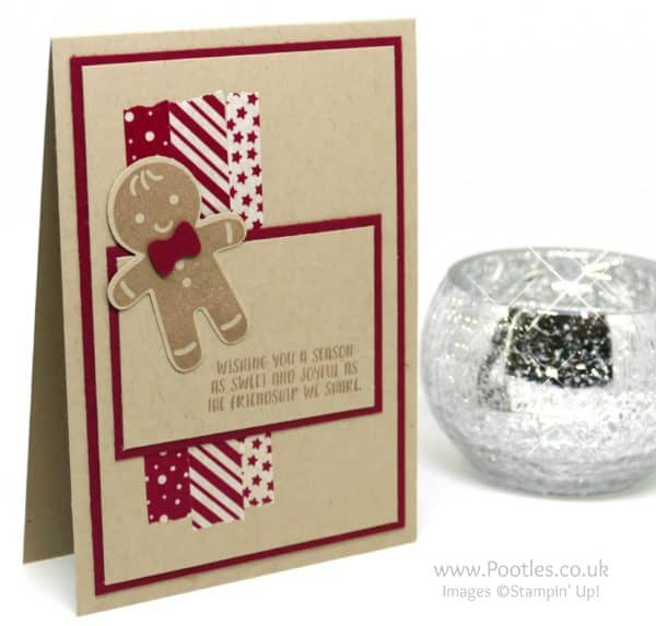 Stampin' Up! Demonstrator Pootles - Candy Cane Lane Cookie Cutter Gingy!