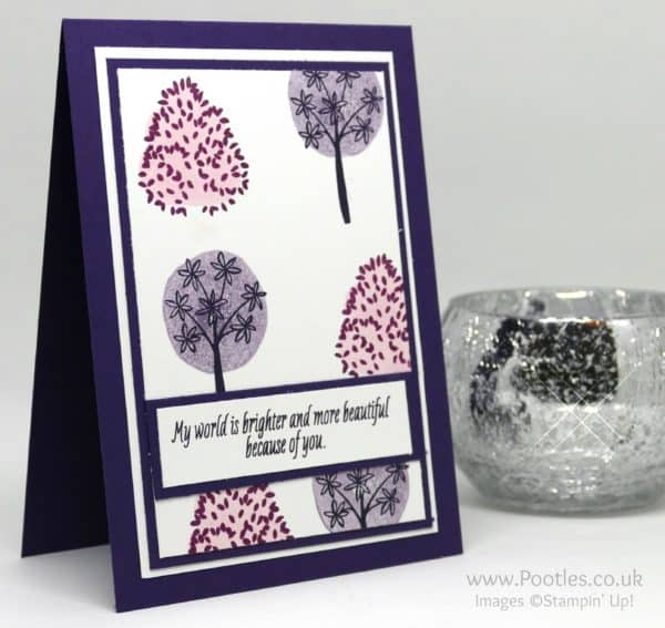 Stampin' Up! Demonstrator Pootles - Colour Your World International Blog Hop - Totally Trees