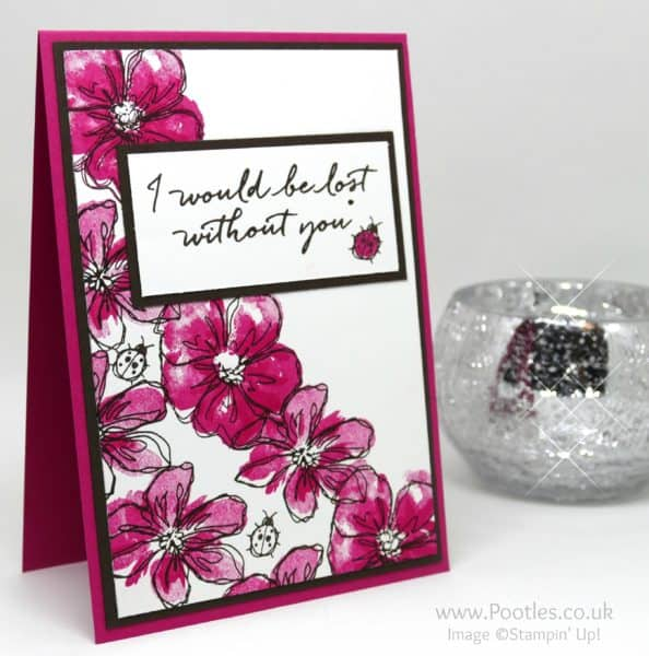Stampin' Up! Demonstrator Pootles - Penned & Painted with Blooms & Wishes