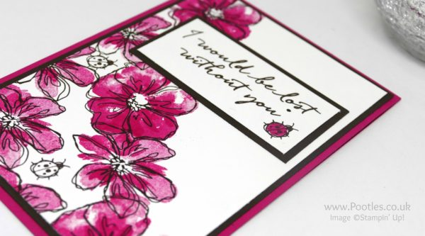 Stampin' Up! Demonstrator Pootles - Penned & Painted with Blooms & Wishes Side Profile