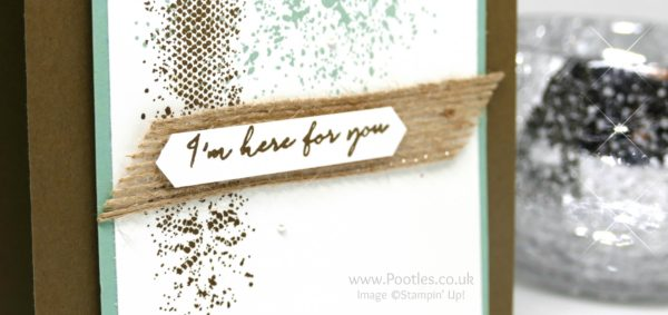 Stampin' Up! Demonstrator Pootles - Touches of Texture with a little Weather Together Close Up